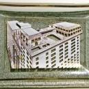 Vintage Monteleone Hotel New Orleans Bent Glass Advertising Tray 5