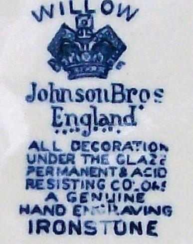 Vintage Johnson Brothers Blue
