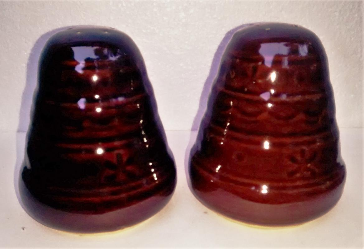 Vintage Marcrest Daisy/Dot S&P Shakers 1950s-60s