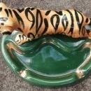 Vintage Morton Bengal Tiger Ashtray MCM
