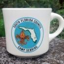 Vintage Boy Scout Mug Sebring South Florida Council 1970s