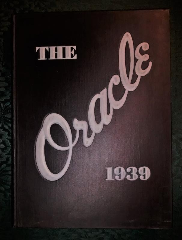 Vintage Yearbook 1939 Colby College Waterville Maine Oracle