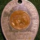 Vintage Fort Lauderdale Florida Bank Advertising Good Luck Token Coral Ridge