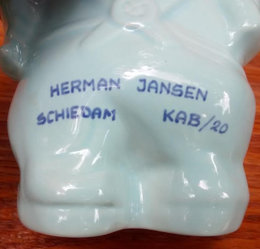Vintage Jansen Distillery Kabouter Gnome Figurine Holland 6.25