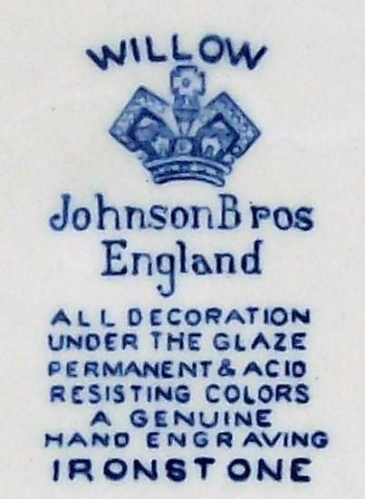 Vintage Johnson Brothers Blue