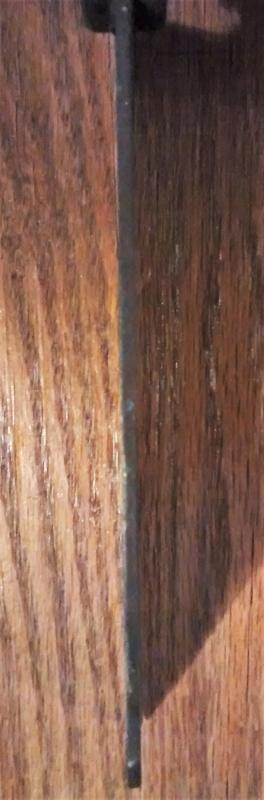 Antique Hand-Crafted Meat Cleaver Full-Tang 1800s