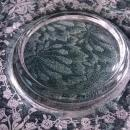 Vintage Heisey Orchid Mayonnaise Liner Plate 1940-57