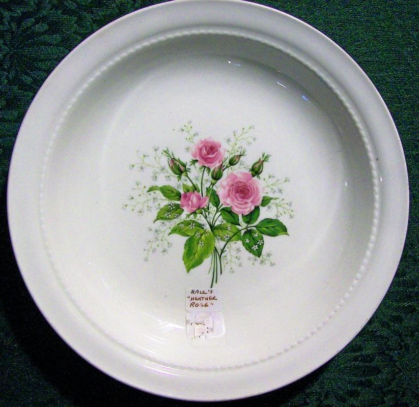 Vintage Hall Heather Rose Soup Bowl 8