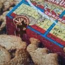 Vintage Springbok Jigsaw Puzzle #4120 Barnum's Animal Snackers/Crackers 500+ Pcs w/Box As Is