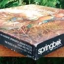 Vintage Springbok Jigsaw Puzzle #2109 Family Outing Wood Ducks 500+ Pcs Complete w/Box