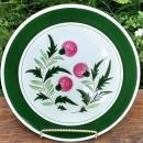 Vintage Stangl Thistle Chop Plate Round Platter 1951-78