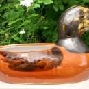 Vintage Taylor Duck Planter Kentucky 1950s Studio Pottery