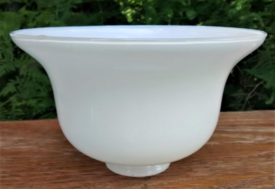 Vintage Opal/Milk Glass Bell Shade 2.25