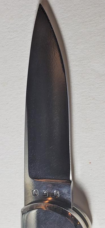 Vintage Ray Beers Folding Knife 1980s Chesapeake Ltd Ed #036 Maker's Own Mint