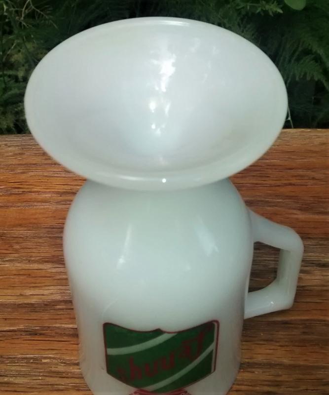 Vintage Lenny's Clam Box Restaurant Pedestal Mug 1974+ NY
