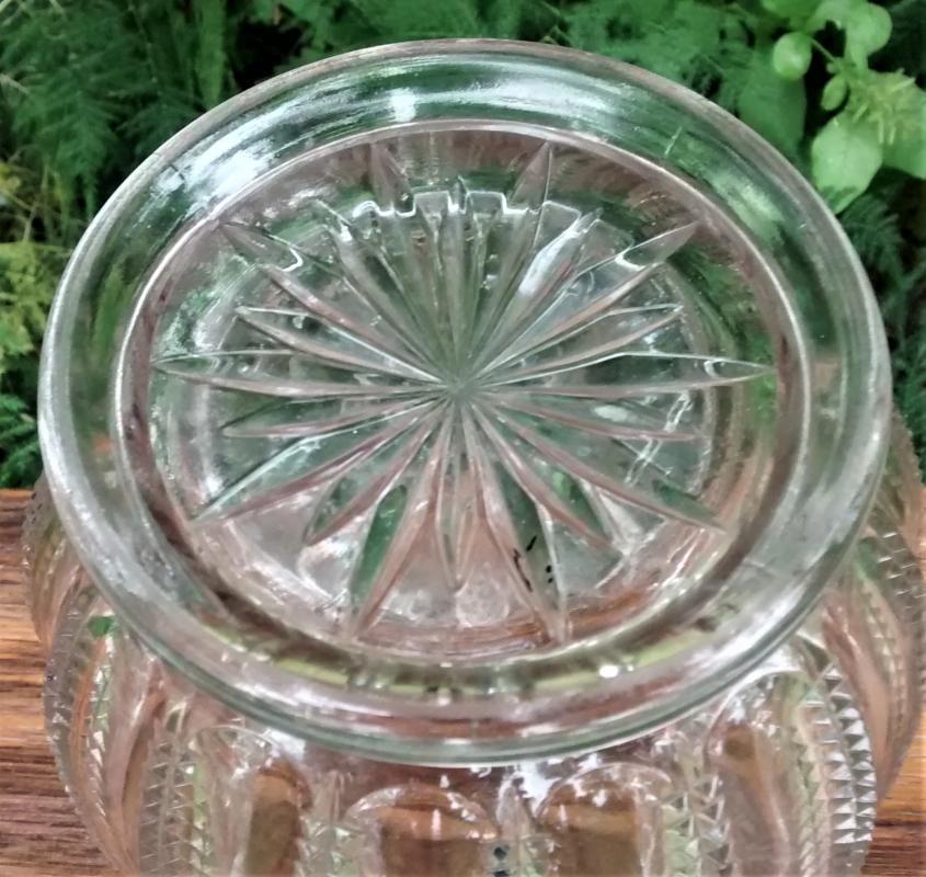 Antique Westmoreland Waverly Cracker Jar NO LID Ca. 1897