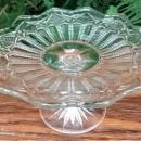 Antique Westmoreland Waverly Salver Pedestal Plate/Stand Ca. 1897