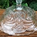 Antique Curlicue Compote/Comport EAPG Bryce/Higbee Ca. 1901