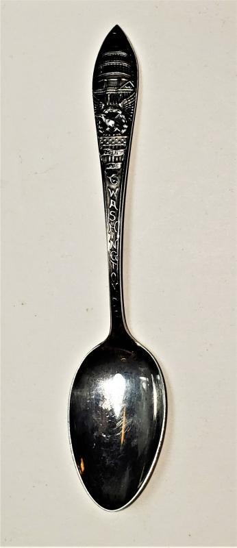 Antique Watson Sterling Washington D.C. Souvenir Spoon Ca. 1900 Capitol