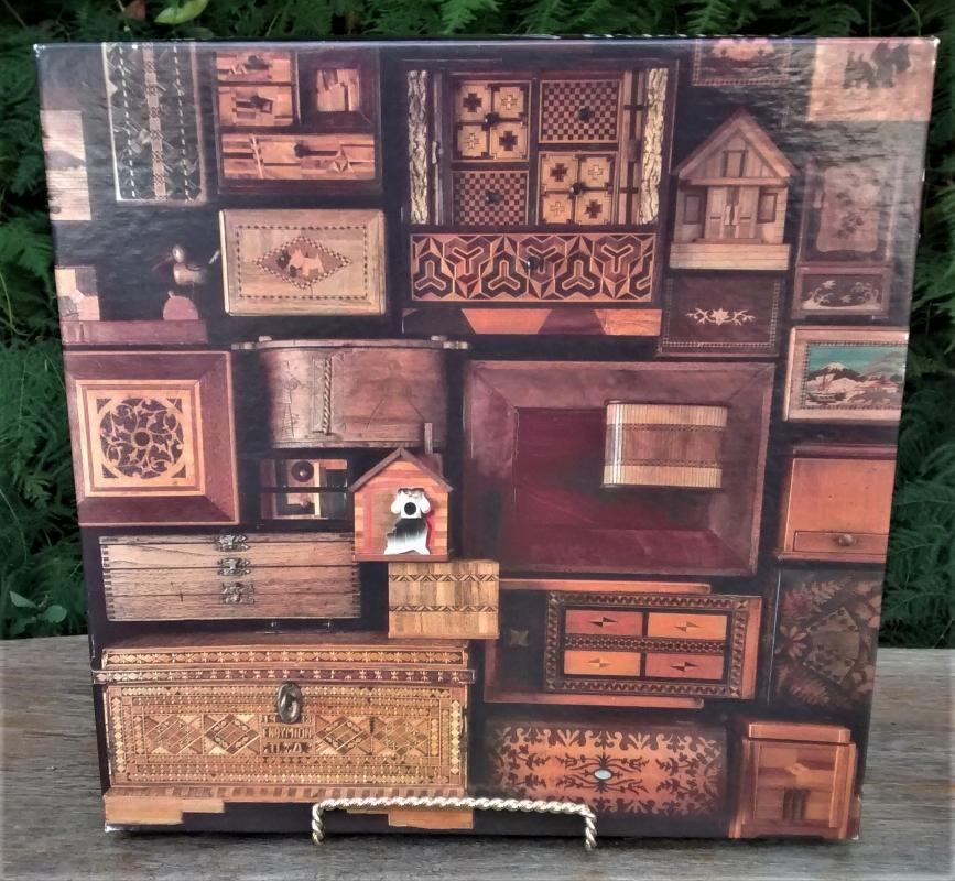 Vintage Jigsaw Puzzle #4659 Doors & Drawers 500 Pcs Complete w/Box