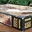 Vintage Piatnik Jigsaw Puzzle #567940 Lady w/Fan 1000 Pcs Complete Austria