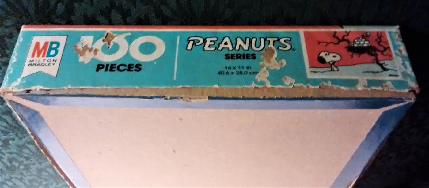 Vintage Peanuts Snoopy Puzzle 100 PC #4382-6 Igloo