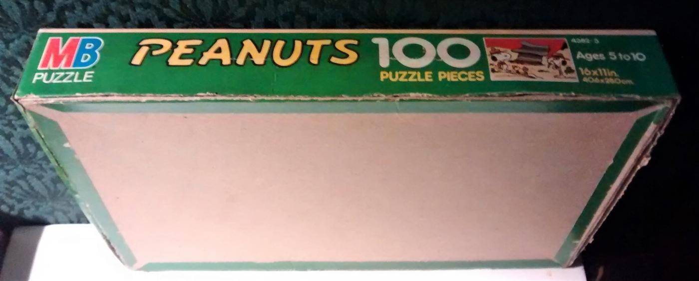 Vintage Peanuts Snoopy Puzzle 100 PC #4382-3 Scout Camp