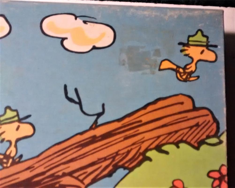 Vintage Peanuts Snoopy Puzzle 100 PC #4382-7 Scout Bridge