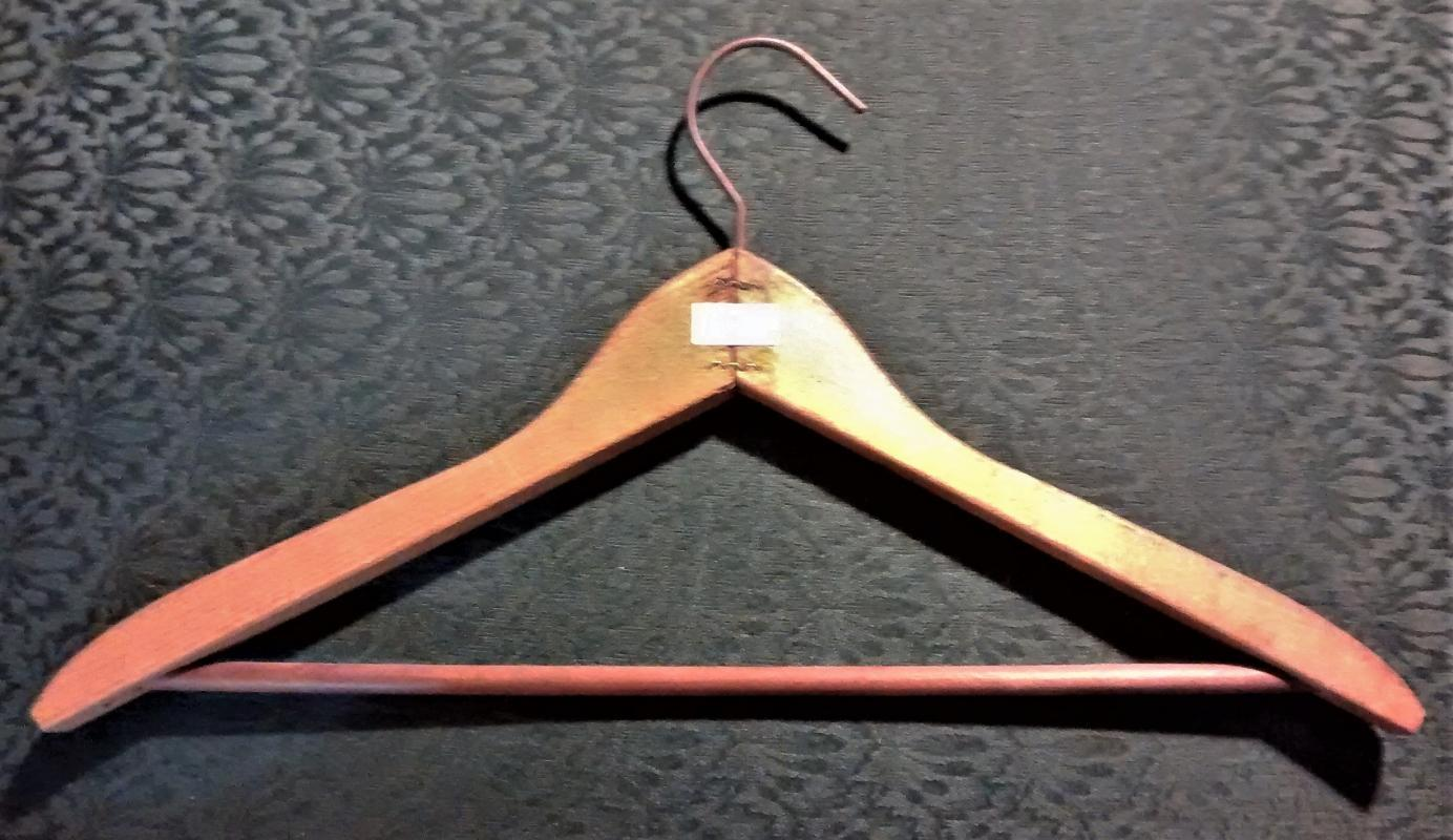 Vintage Hotel Taft New York Clothes Hanger