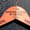 Vintage Somerset Hotel Boston Clothes Hanger 1956+