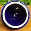 Vintage Hall Windshield Teapot LID ONLY Cobalt/Gold Art Deco
