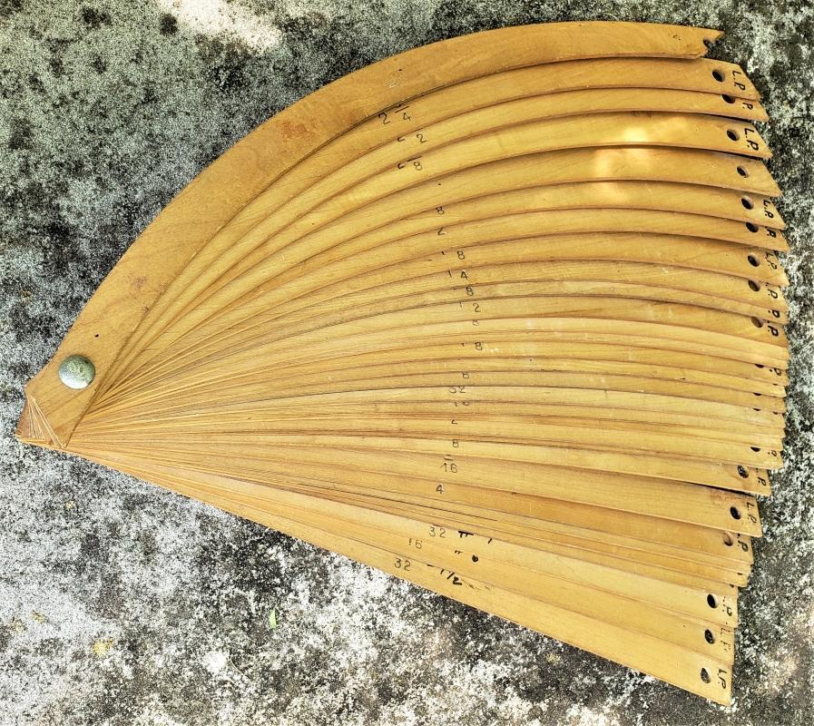 Vintage Template Set Arches/Curves Architect/Draftsman/Woodworker