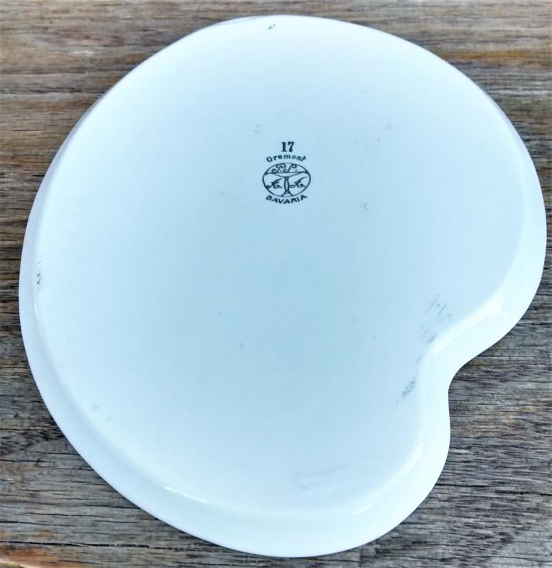 Antique Schonwald Oremont Luster Snack Plate 1920s