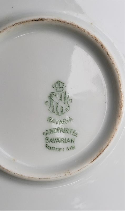 Antique P.T. Bavaria/Tirschenreuth Cherries Cake Plate 10.75
