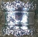 Antique Sterling Silver Napkin Ring Inscribed