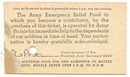 Vintage 1942 US Army War Show Ticket Home Front Militaria Used Soldier Field Chicago