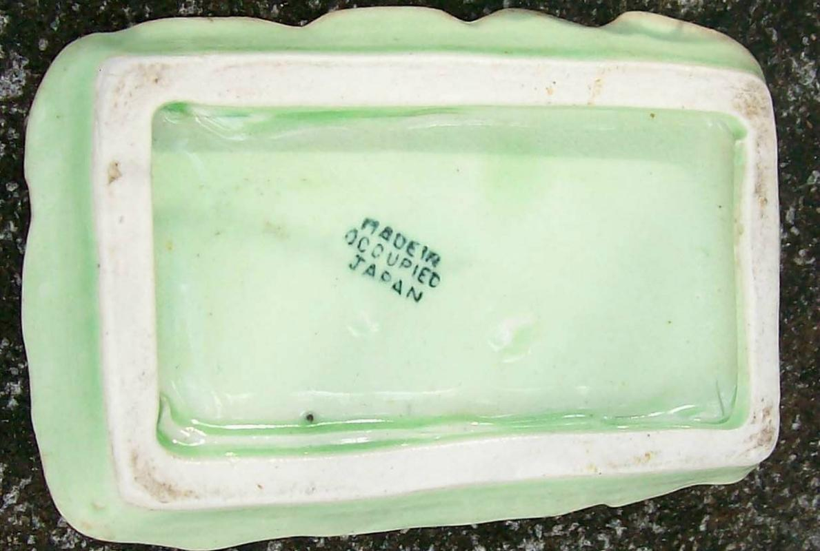 Vintage Occupied Japan S&P Tray for Novelty Shakers