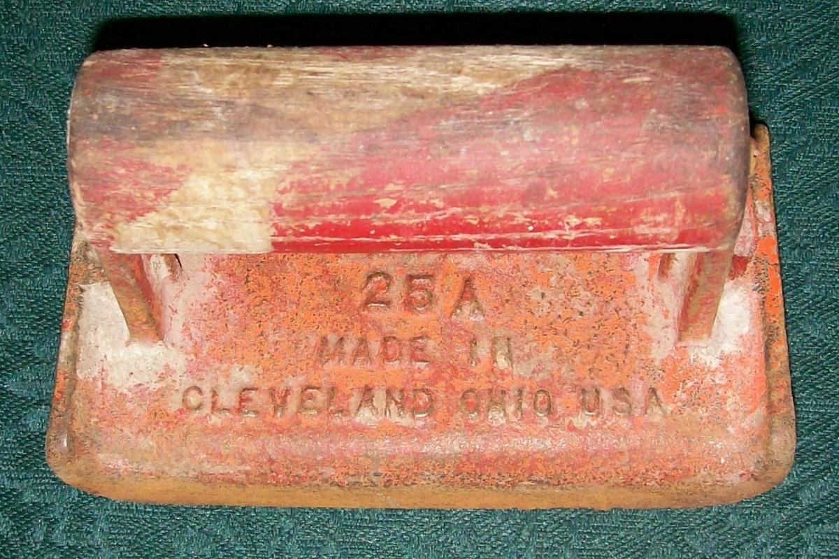 Vintage Miles Craft #25A Cement Edging Tool Cleveland OH