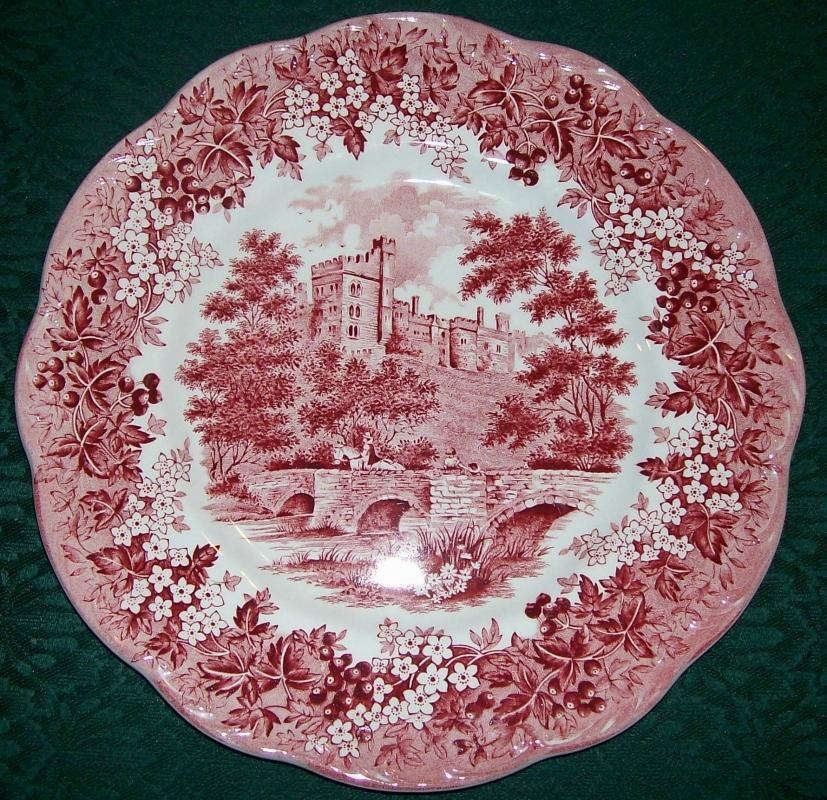 Meakin Romantic England Dinner Plate 10