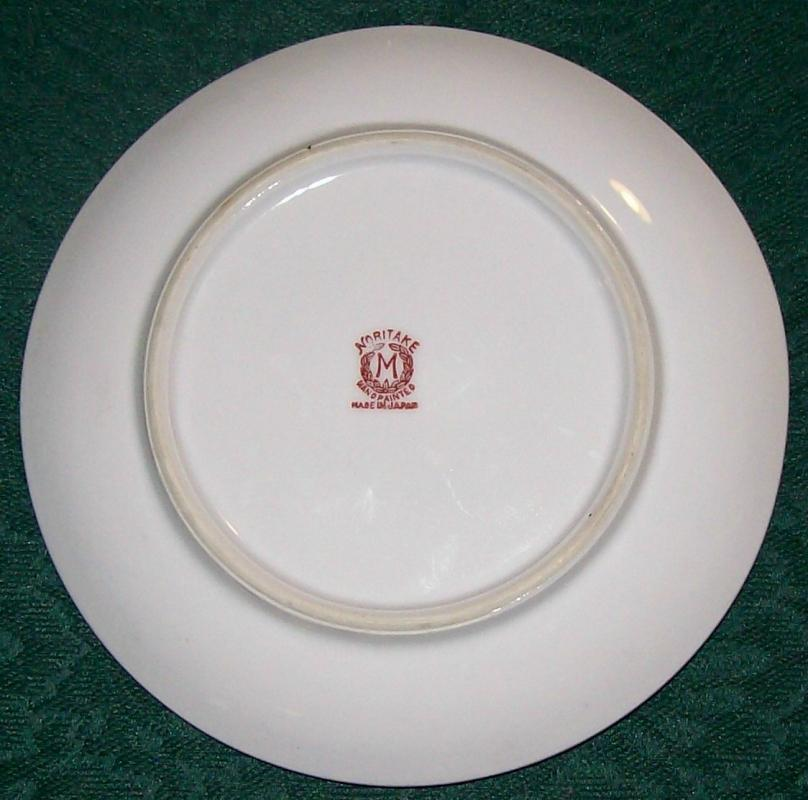 Noritake Art Deco Lusterware Lemon Dish