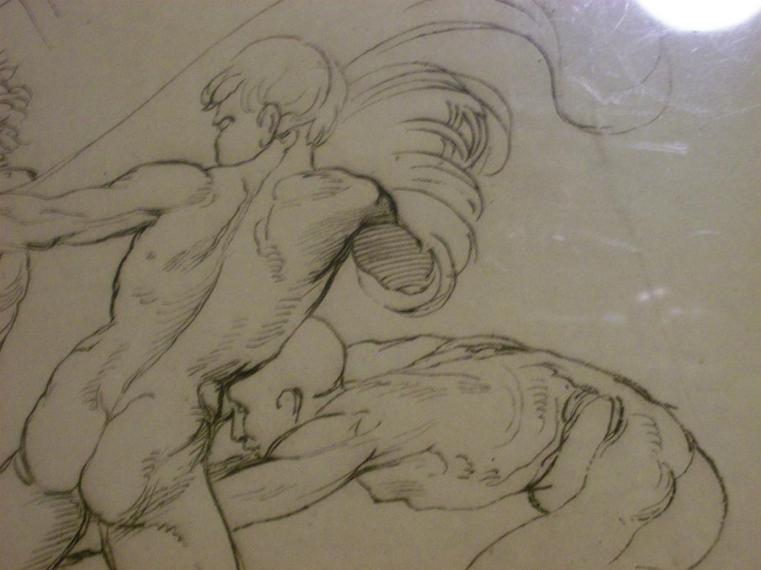 Antique Intaglio Print Italian Masters 1812 Rafael by Ottley