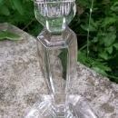 Antique Fostoria Colonial Candlestick #1485 Clear Glass Ca. 1920 10.5