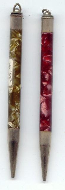 Antique Victorian AXT Chatelaine Pencil(s) 4