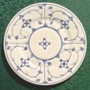 Koenigszelt Silesia Ceramic Plate KOE9 Blue & White 7