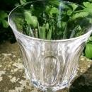 Vintage Royal Crystal Rock Victoria Water Goblet Set/4 6.5