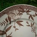 Antique Wedgwood Louise Cake Plate Aesthetic Brn Transfer