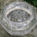Antique ABP Cut Glass Jewel Box Ca. 1900 Large 9