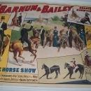 Circus Poster Reprints Barnum & Bailey Equestrian Horse Show