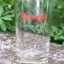 Vintage Harvey's Lake Tahoe Glass Advertising Tumbler Hotel Casino 4 3/8