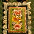 Antique Italian Micromosaic Necklace Ca. 1900 Goldplated